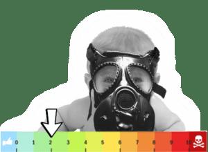 trucizny dym zapach fabryki smog